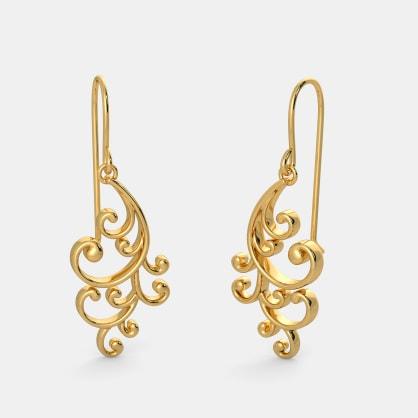 The Artistic Twirl Earrings