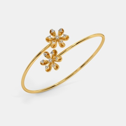 The Zyra Twister Bangle