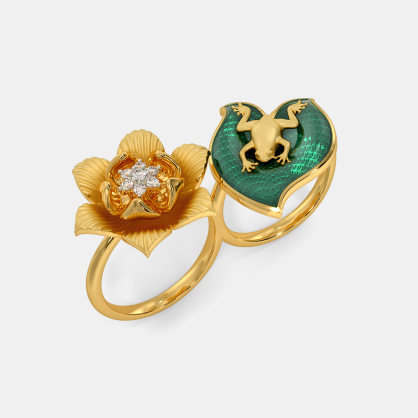 The Himari Two Finger Ring