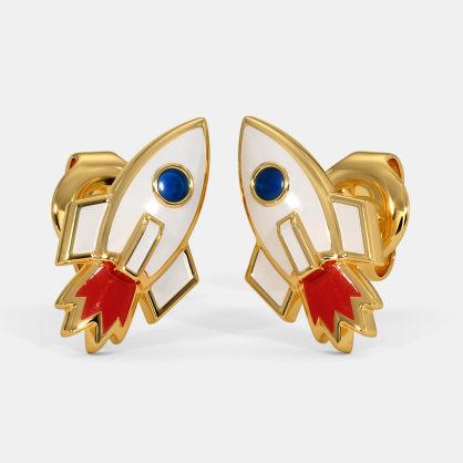 The Rocket Kids Stud Earrings