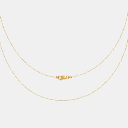 The Yellow Gold Belcher Chain