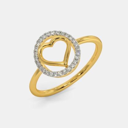 The Corona Heart Ring