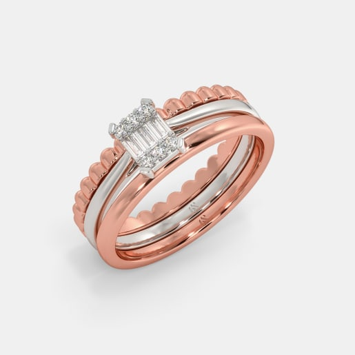 The Feliz Stackable Ring