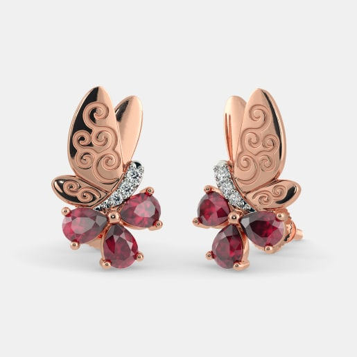 The Sara Butterfly Stud Earrings