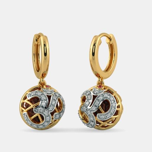 The sacred Pod Hoop Earrings