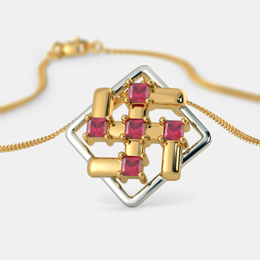 The Amal Swastik Pendant