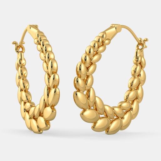 The Helen Hoop Earrings