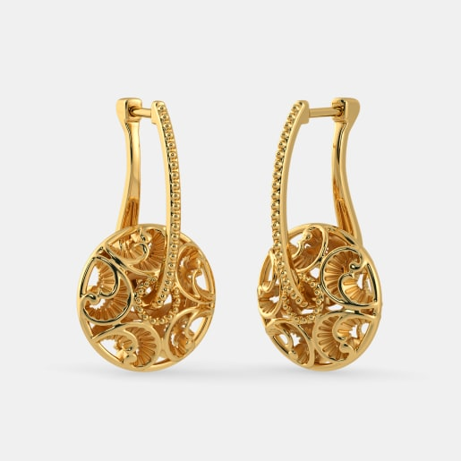 The Humaila Hoop Earrings