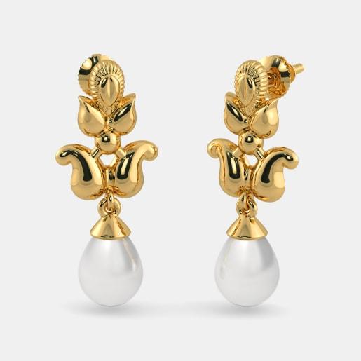 The Vedika Drop Earrings