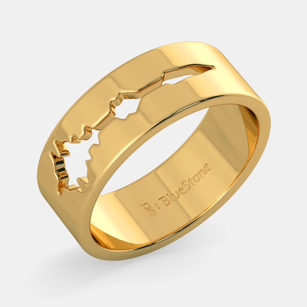 039f280e15 The Sound Of Love Band For Him | BlueStone.com