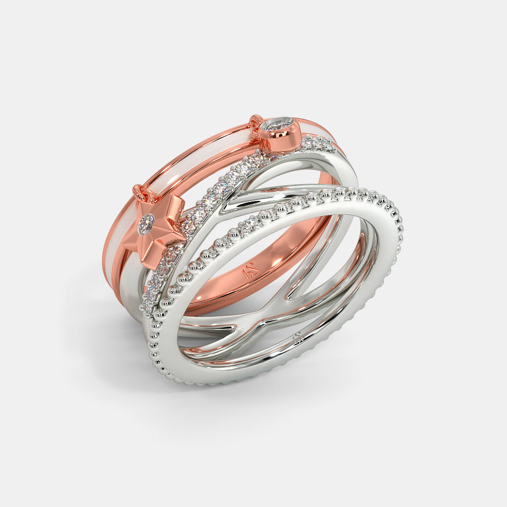 The Radiant Star Stackable Ring