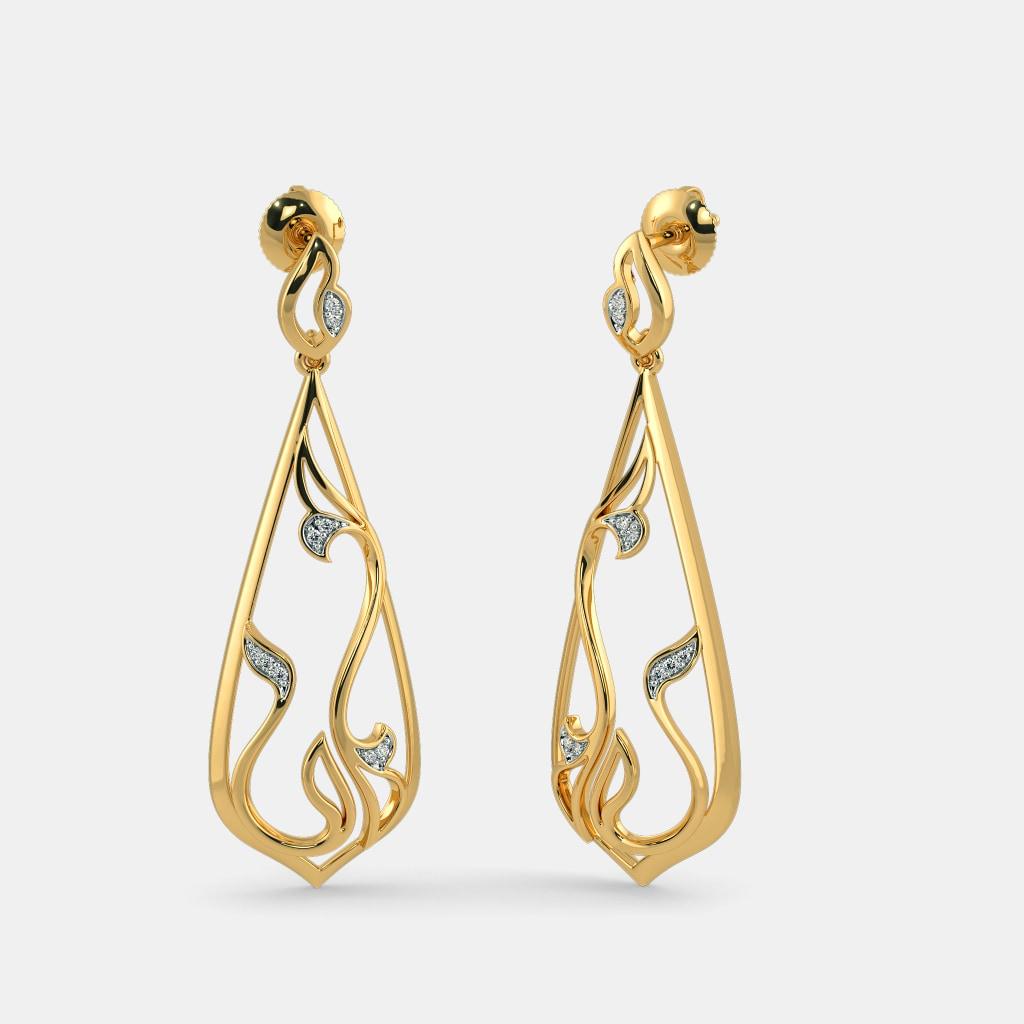 The Zahra Drop Earrings