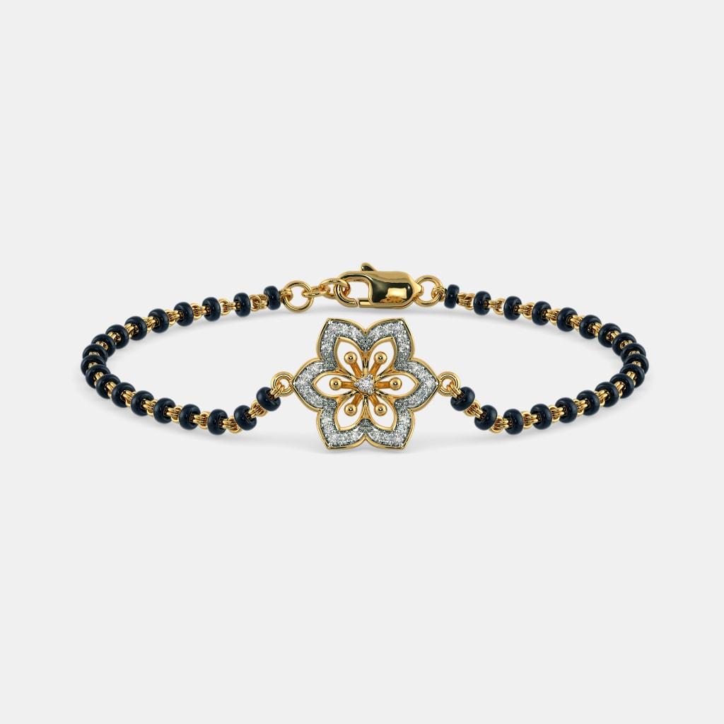 The Gandharika Mangalsutra Bracelet