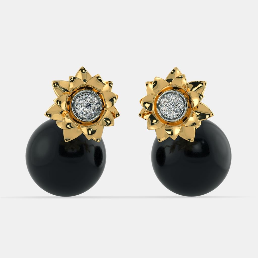 The Nia Onyx Earrings