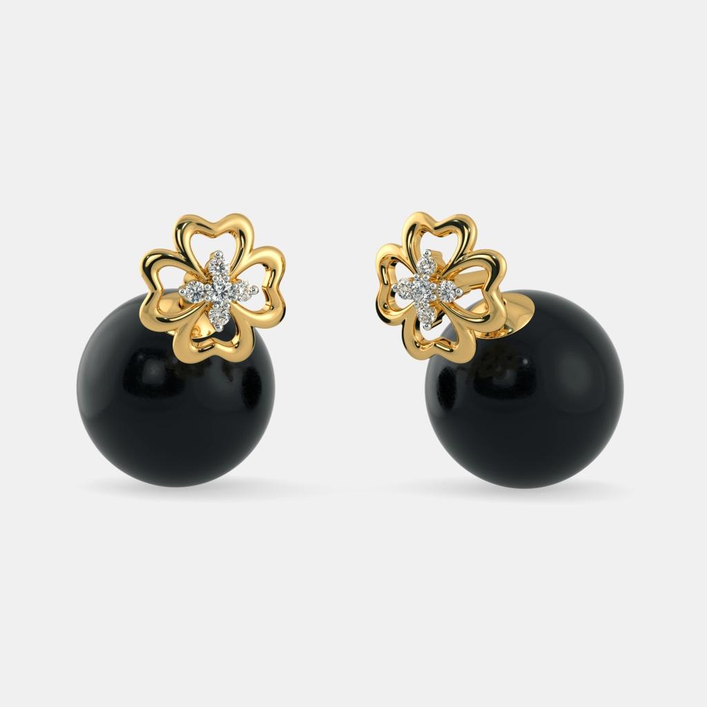 The Juhi Onyx Earrings