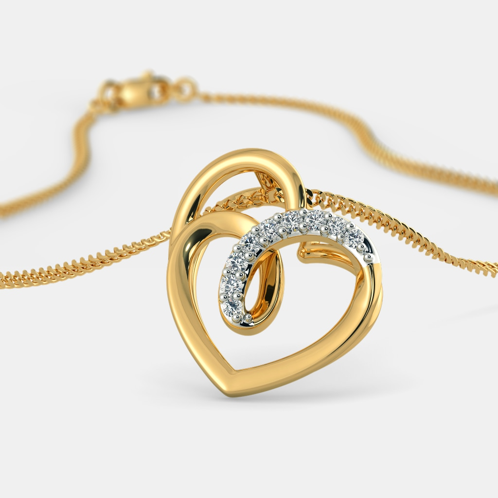 The Twisted Heart Pendant
