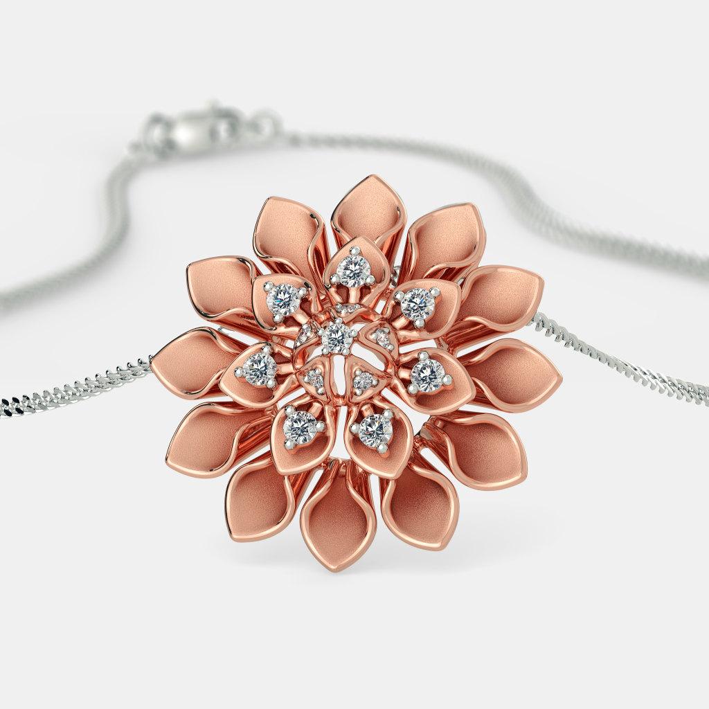 The Delicate Dahlia Pendant