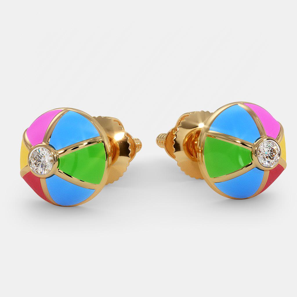 The Colour Mist Earrings for Kids