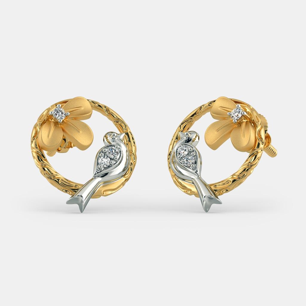 The Avelina Stud Earrings