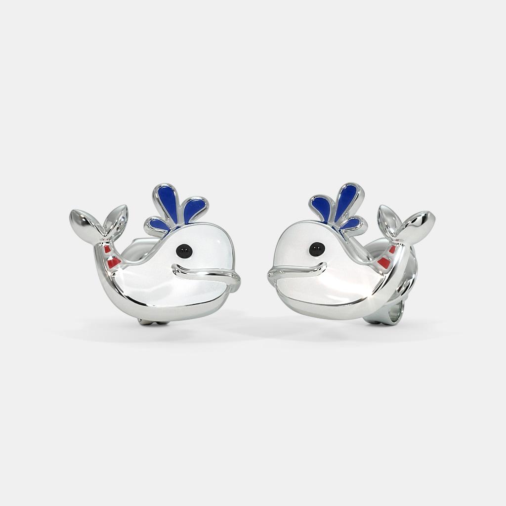 The Whale Kids Stud Earrings