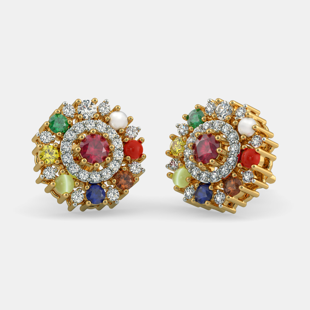 The Priyala Stud Earrings