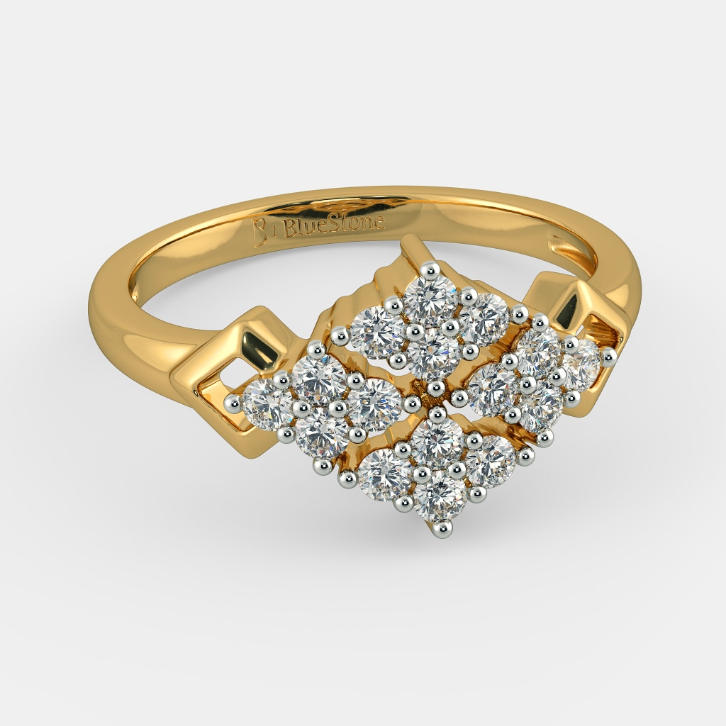 bc42799c4a939 The Helios Cluster Cocktail Ring