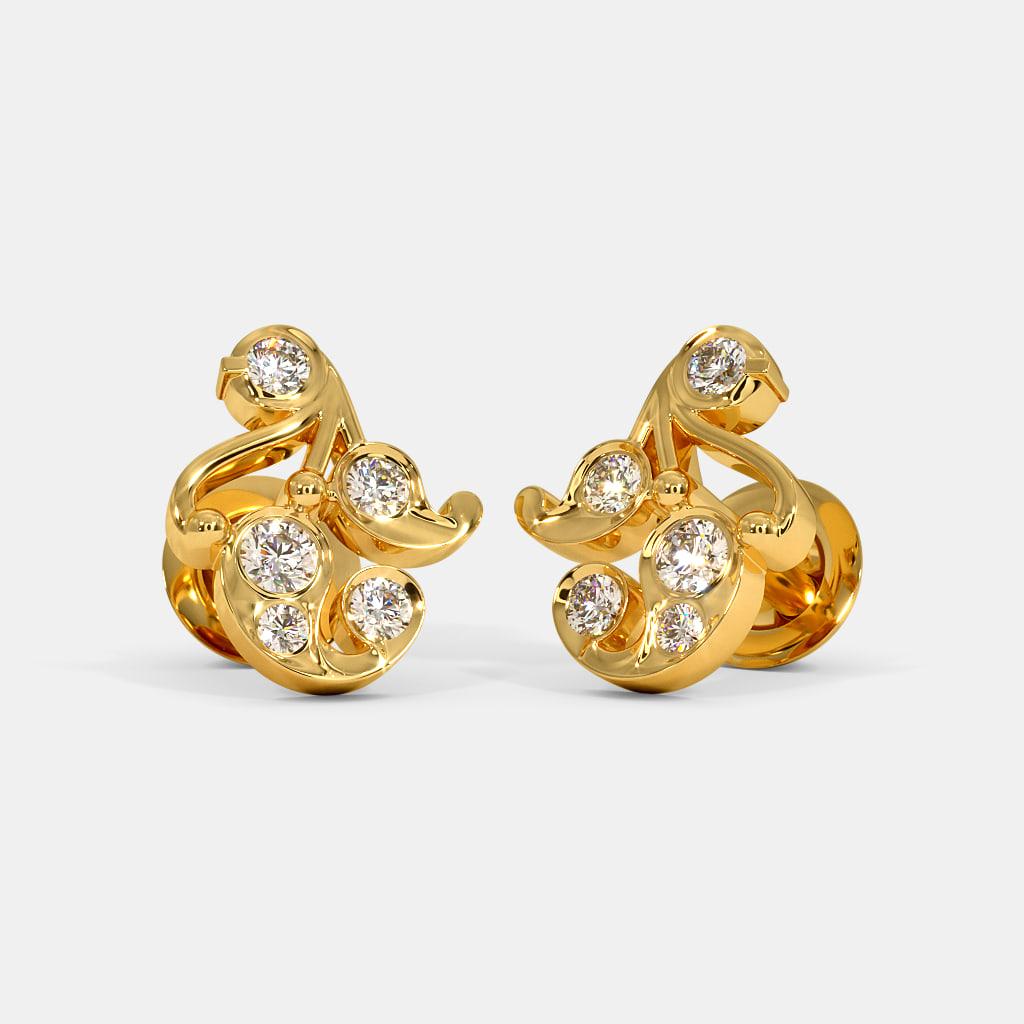 The Alya Stud Earrings