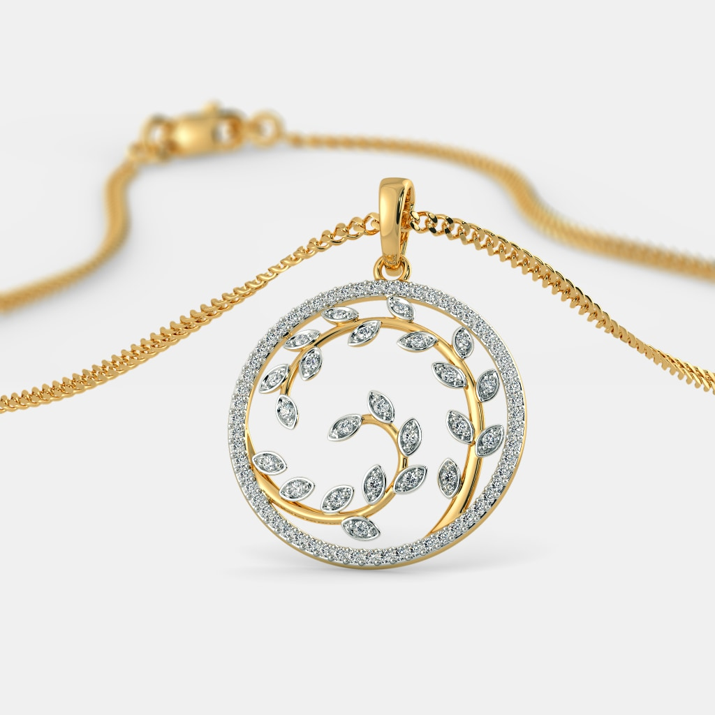 The Cordial Leaves Pendant