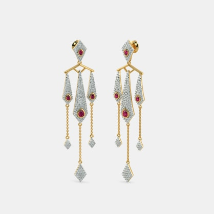 The Shaheen Drop Earrings