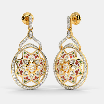 The Gurjara Drop Earrings