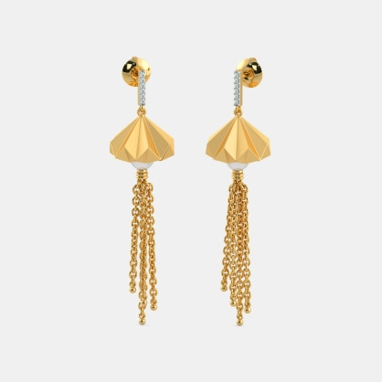 The Enfold Drop Earrings