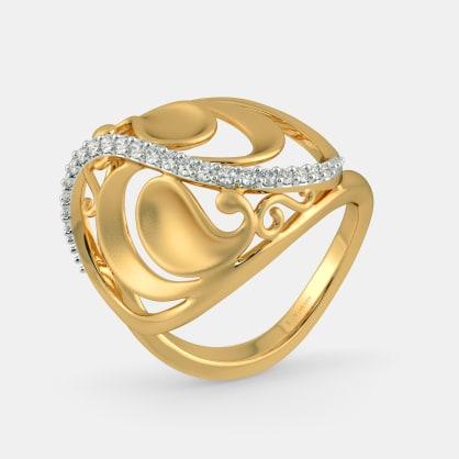The Aloki Paisley Ring