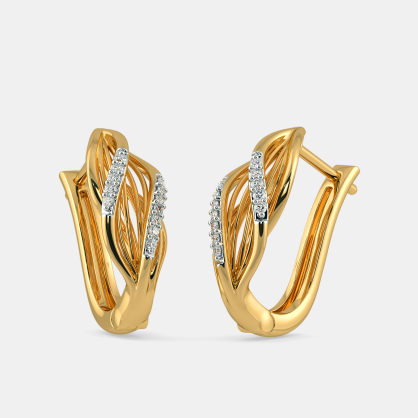 The Skein Hoop Earrings