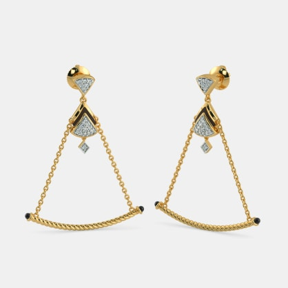The Enthralling Drop Earrings