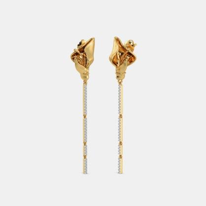 The Flamma Drop Earrings