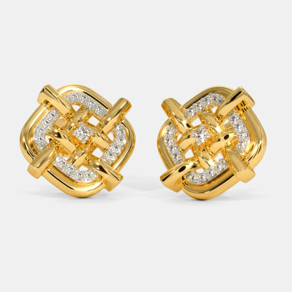 The Notch Stud Earrings