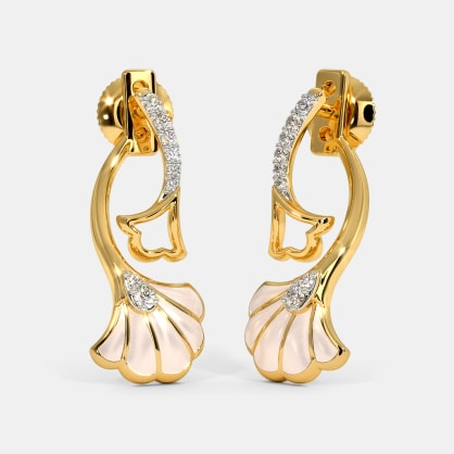 The Violetta Front Back Earrings