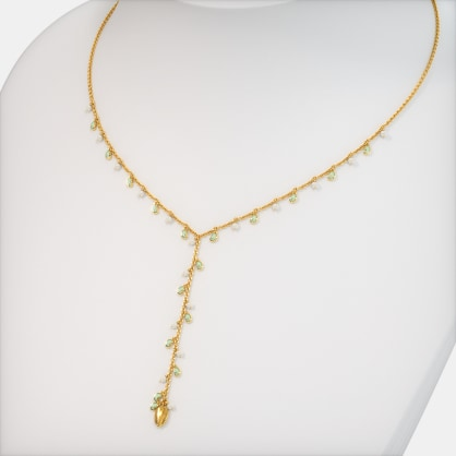 The Kari Y-Shaped Necklace