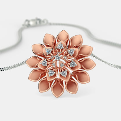 The Delicate Dahlia Pendant