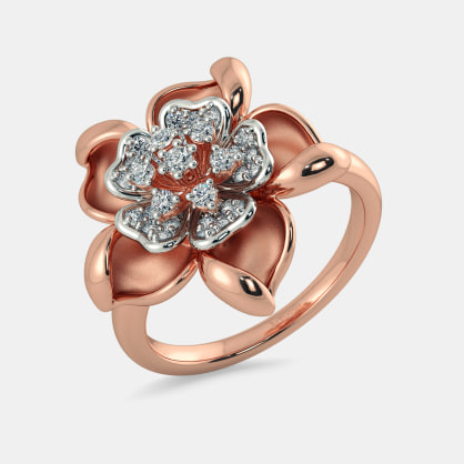The Salient Floral Ring