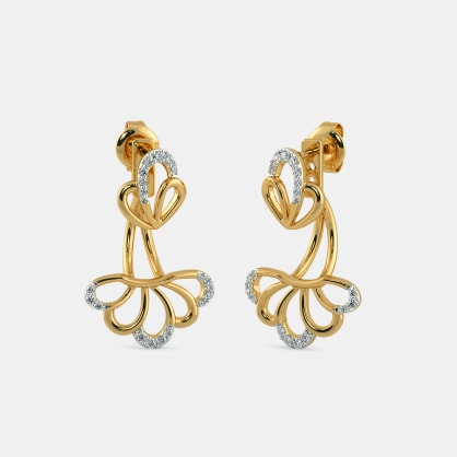 The Keer Front Back Earrings
