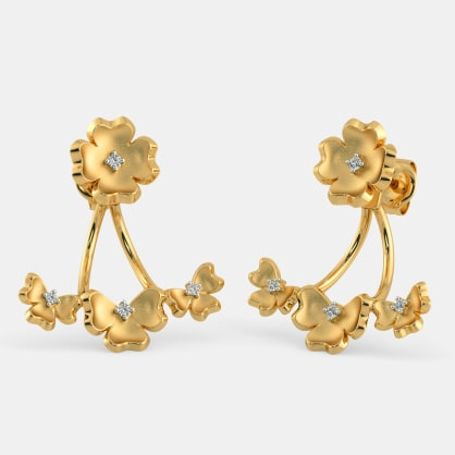 The Namrit Front Back Earrings