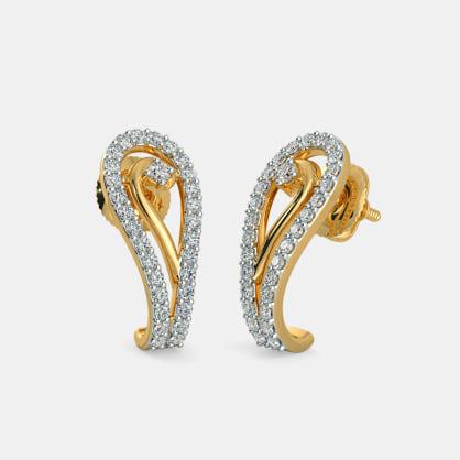The Peirs J hoop Earrings