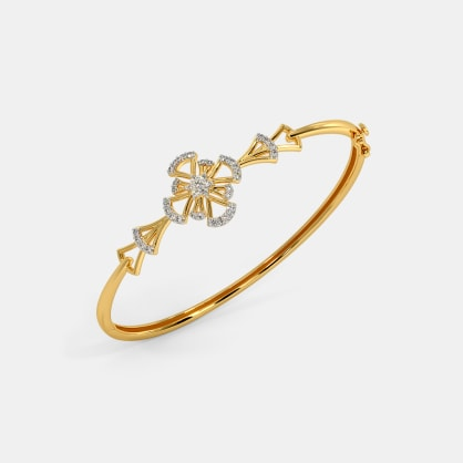 The Alizeh Oval Bangle