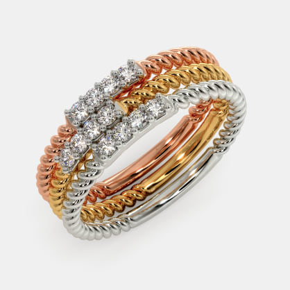 The Shaina Stackable Ring