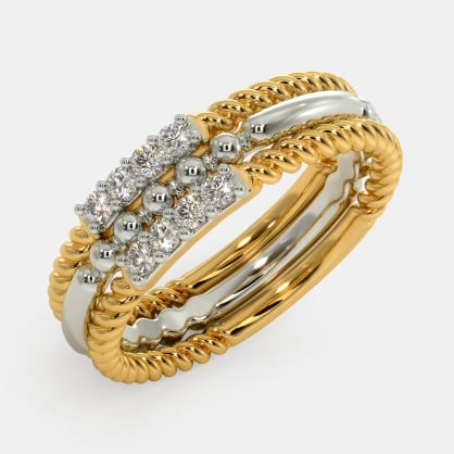 The Calystal Stackable Ring