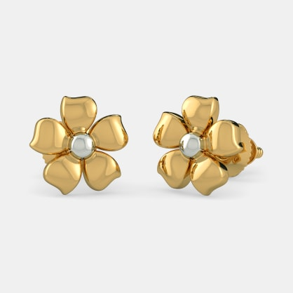 The Flower of Innocence Earrings For Kids