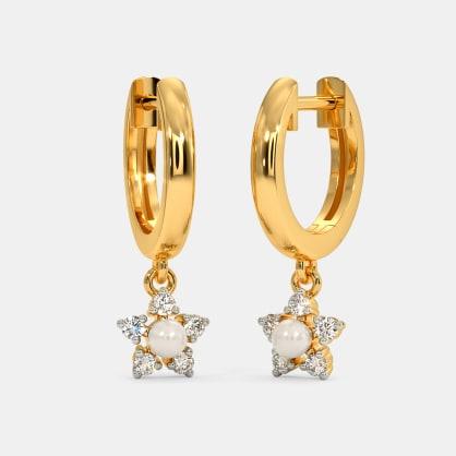 The Arla Hoop Earrings