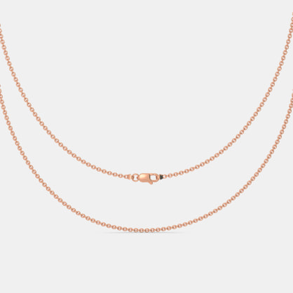 The Rose Gold Cable Chain