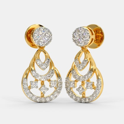The Firoza Drop Earrings